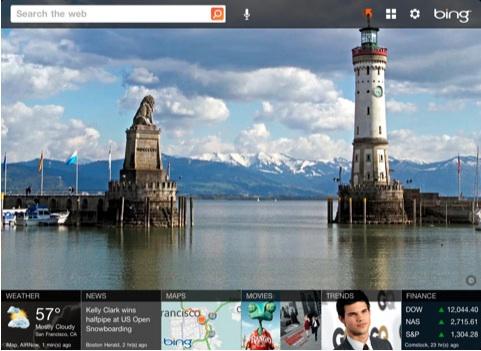 Microsoft publica la aplicación de Bing para iPad - Bing-for-ipad