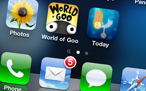 World of Goo llega al iPhone - GooPhoneScreenshot