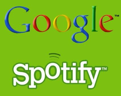 Google en pláticas con Spotify para integrarlo a su nuevo servicio de música - Google-Spotify