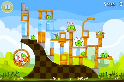 Nueva actualización de Angry Birds Seasons ahora celebra la Pascua - IMG_2128