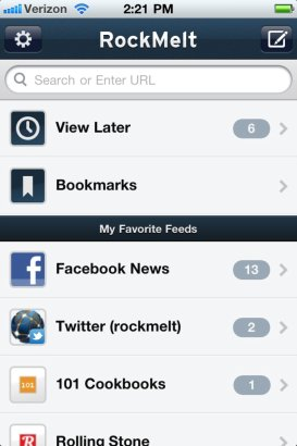 RockMelt para iPhone espera aprobación de Apple [ACTUALIZADO] - RockMeIt-for-iphone