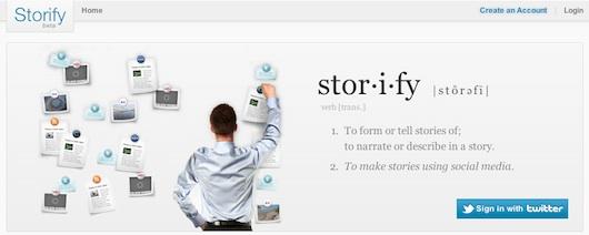 Storify, una interesante manera de compartir noticias en las redes sociales - Storify