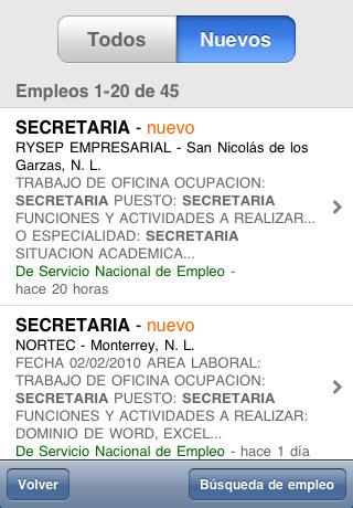 Buscar trabajo desde tu celular - encontrar-trabajo-mexico-iphone