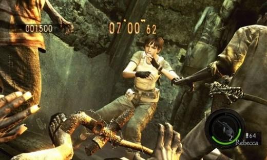 Rebecca Chambers será elegible en Resident Evil: The Mercenaries 3D - resident-evil-5-gold-edition-screen-Rebecca-Chambers-