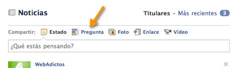 Comienza a utilizar Facebook Questions - 2011-05-02_20-19-19