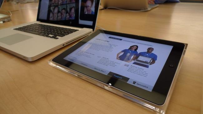 La nueva versión de las Apple Store celebrando su 10º aniversario - 45-PM