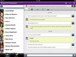 Yahoo! Messenger para iOS se actualiza y trae las videollamadas al iPad 2