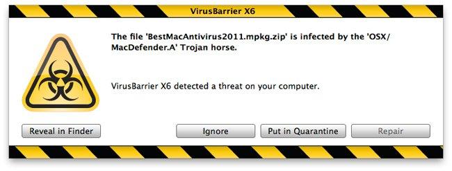 Como eliminar el Malware MacDefender en Mac OS X - Mac-Defender