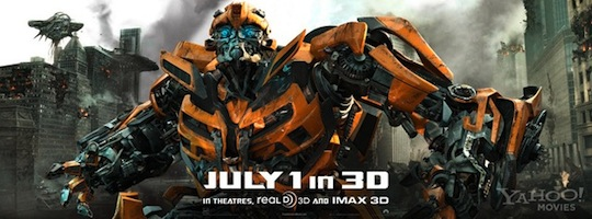 Nuevo Trailer de Transformers: Dark of The Moon