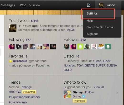 Como modificar las notificaciones por mail de Twitter - Twitter-notificaciones-mail-2