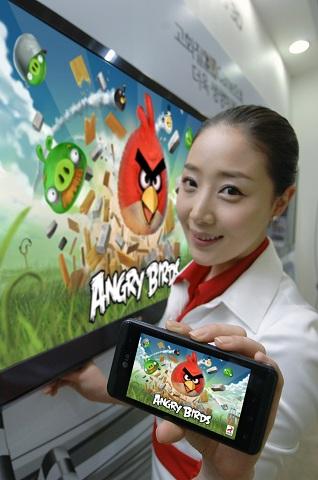 Angry Birds Rio vendrá instalado en el LG Optimus - angry-birds-rio-lg-optimus
