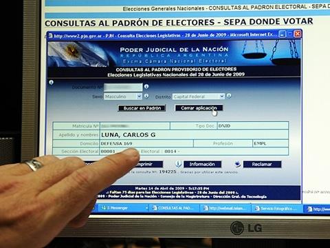 argentina votaciones internet Argentina vivirá sus primeras votaciones por Internet