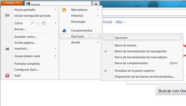 firefox opciones Abrir varias pestañas al iniciar tu navegador (Chrome y Firefox)