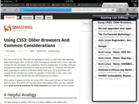 iChromy, el Google Chrome para iPad - iChromy-para-ipad