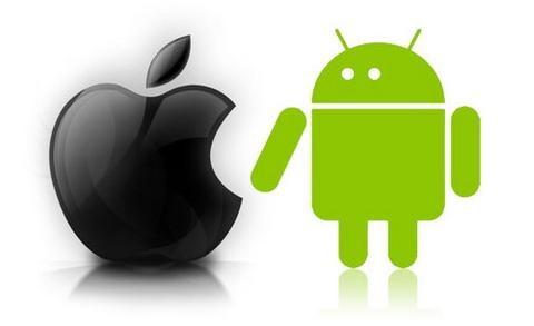 Android Market cuenta con más aplicaciones gratuitas que la App Store - iphone-vs-android