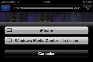 Como activar Airplay en Windows Media Center