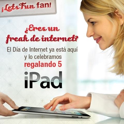 LetsBonus.com regala 5 iPads por el día del Internet - letsbonus-ipads