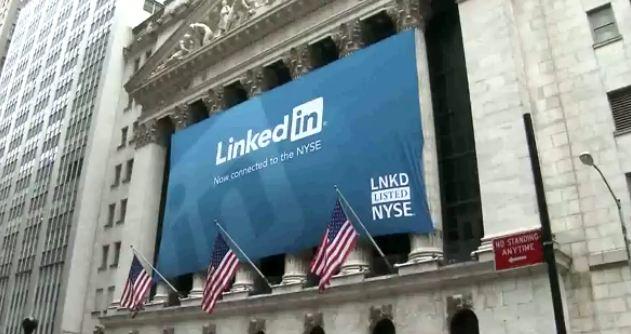 Un éxito LinkedIn su camino en la bolsa de Nueva York - linkedinNY