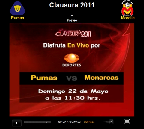 Pumas vs Morelia en vivo, Gran Final Clausura 2011 - pumas-morelia-en-vivo-final-clausura-2011