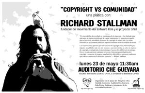 Richard Stallman en la UNAM
