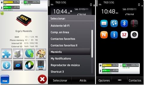 symbian ram ergos meminfo Como ver la RAM en Symbian, Ergos MemInfo