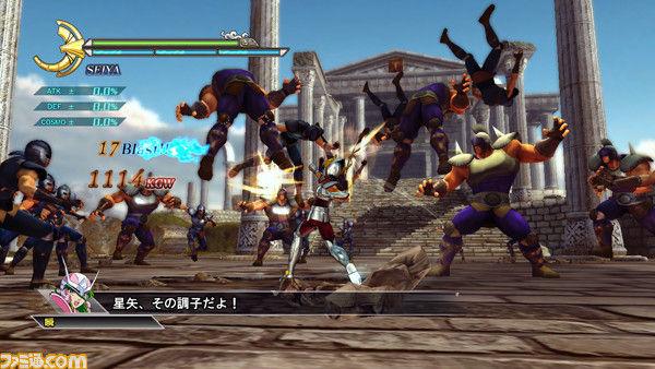 Saint Seiya tendrá un juego para PS3