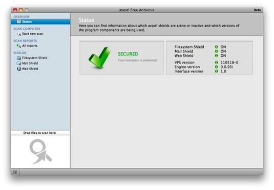 Avast para Mac, el estupendo antivirus gratuito llega a la manzana - Avast-for-mac