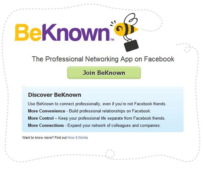 BeKnown, la App profesional - Beknow
