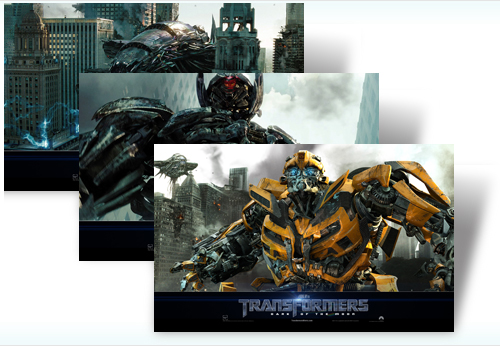 Temas para Windows 7: Transformers 3
