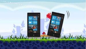Angry Birds llega a Windows Phone 7