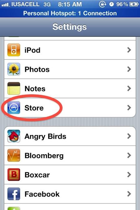 Como activar las descargas automáticas de iCloud en el iPhone, iPad e iPod Touch - activar-icloud-2