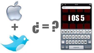 iOS 5 tendrá actualizaciones automáticas y posible integración con Twitter [Rumor]