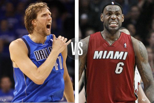dallas maveriks versus miami heat 590x395 Finales NBA en vivo, sexto partido