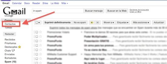 Como exportar los contactos de Gmail a otros formatos para su respaldo - exportar-contactos-de-gmail