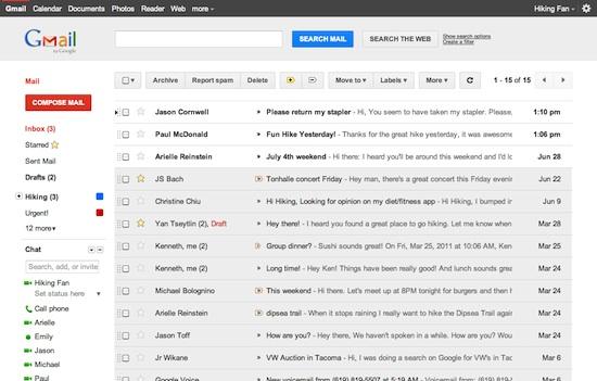 Gmail estrena look y comienza la renovación de Google - gmail-nuevo-tema