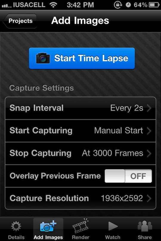 TimeLapse, qué es y como hacer un video con esta técnica utilizando iTimeLapse Pro para iPhone - itimelapse-1