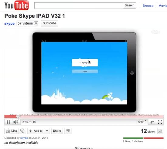large image Skype para iPad podría llegar muy pronto
