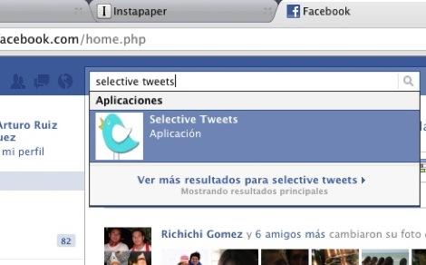 mandar tweets a facebook 1 Cómo mandar los tweets que tu elijas a Facebook