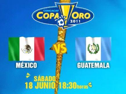 mexico guatemala en vivo copa oro 2011 México vs Guatemala en vivo, Copa Oro 2011