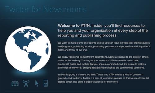 Twitter lanza guía para periodistas - twitter-para-periodistas