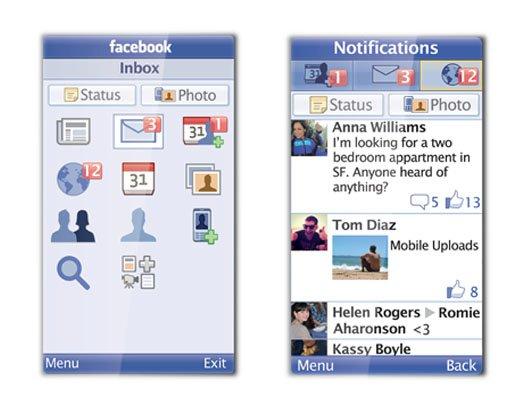 Facebook lanza Facebook For Every Phone, un cliente Java de la red social - Facebook-for-Every-Phone