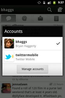 android screenshot 4b Twitter para Android ahora con notificaciones Push y cuentas multiples