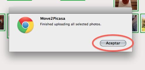 Como copiar nuestras fotos de Facebook a Google+ con Move2Picasa - move2picasa6
