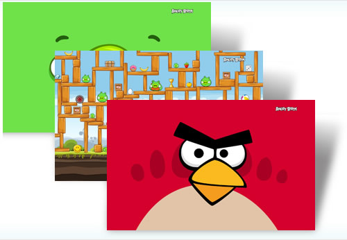 Temas windows 7, Angry Birds - temas-windows-angrybirds