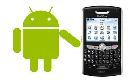 Blackberry podría ser compatible con Android en el 2012 - blackberry-compatible-android