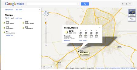 google maps clima Google Maps se actualiza y ahora te muestran el clima