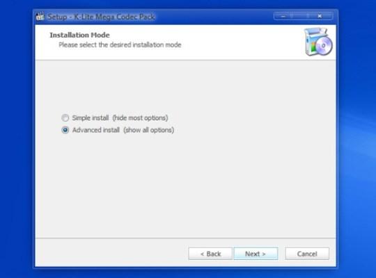 Instala K-Lite Codec Pack y olvídate para siempre de los códecs - instalar-k-lite