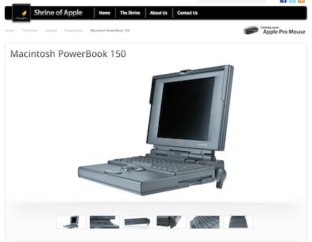 Shrine of Apple, viaja en el tiempo y conoce los productos de Apple - shrine-of-apple