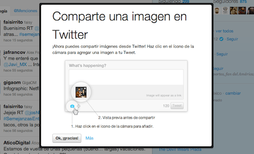 Compartir fotos desde Twitter.com - twitter-imagenes