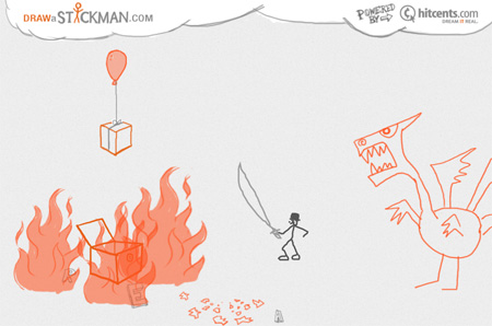 Draw a Stickman, dibujar nunca había sido tan divertido - Draw-a-Stickman